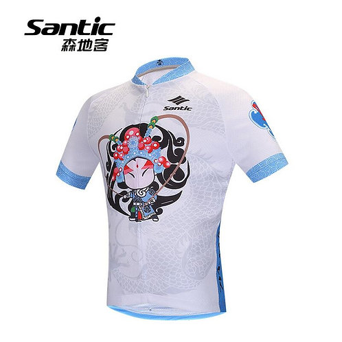 Santic Opera Boy's Cycling Short Sleeve Jersey
