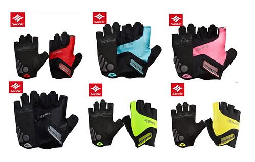 Santic Java Short Finger Gloves