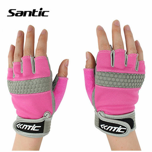 Santic Short Finger Cycling Gloves