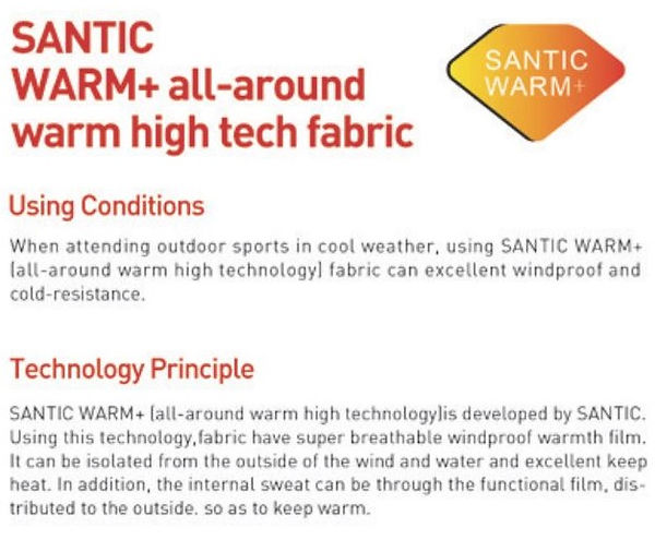 SANTIC FABRIC TECHNOLOGY | CN Cycles