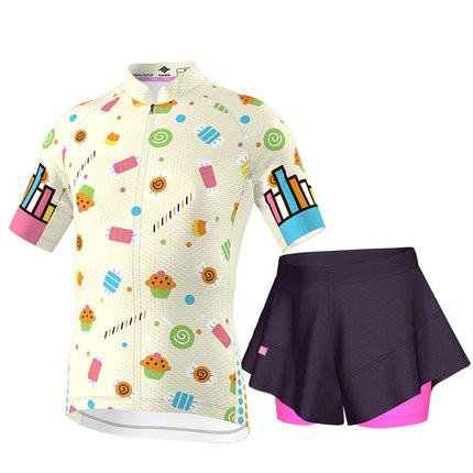 Santic Vanilla Junior Cycling Kit For Girls