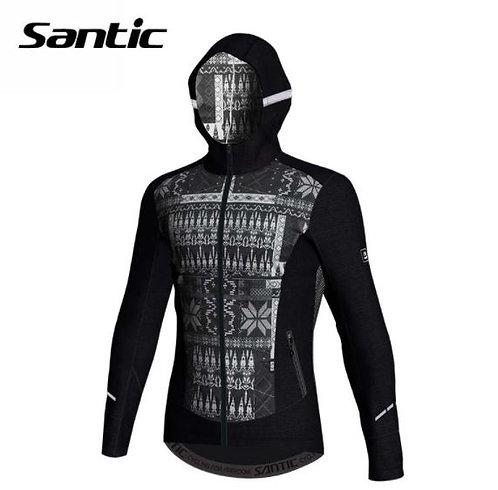 Santic Klong Hooded Thermal Cycling Jacket