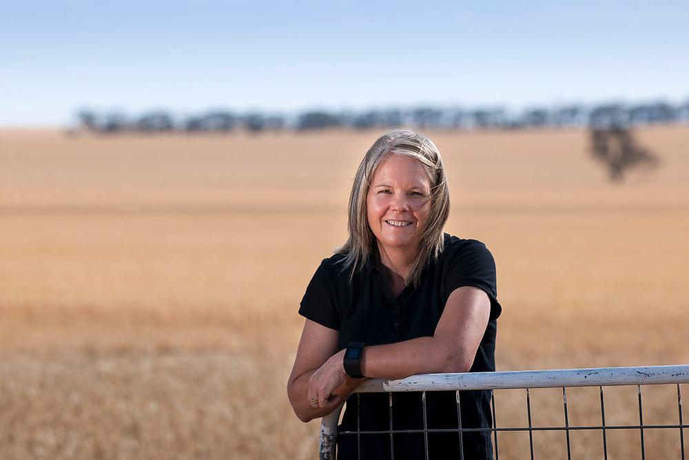 Grain grower Kate Wilson