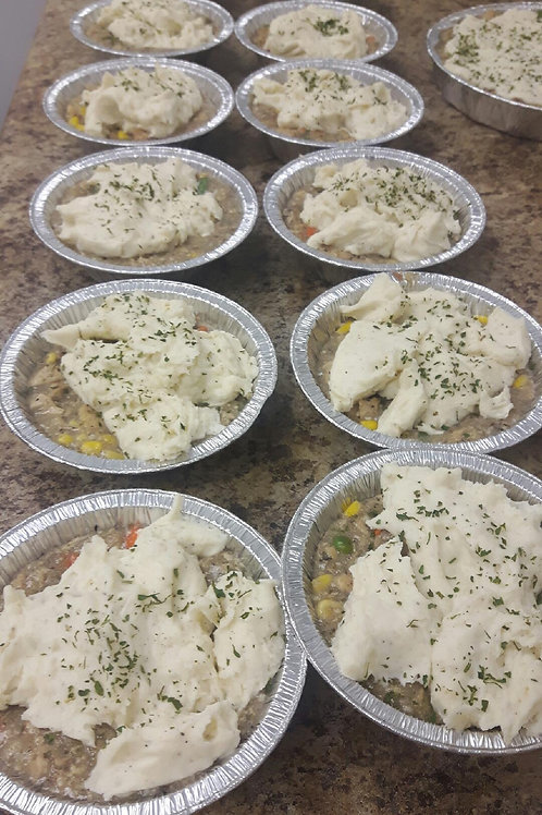 Potato-Topped Chicken Tourtiere