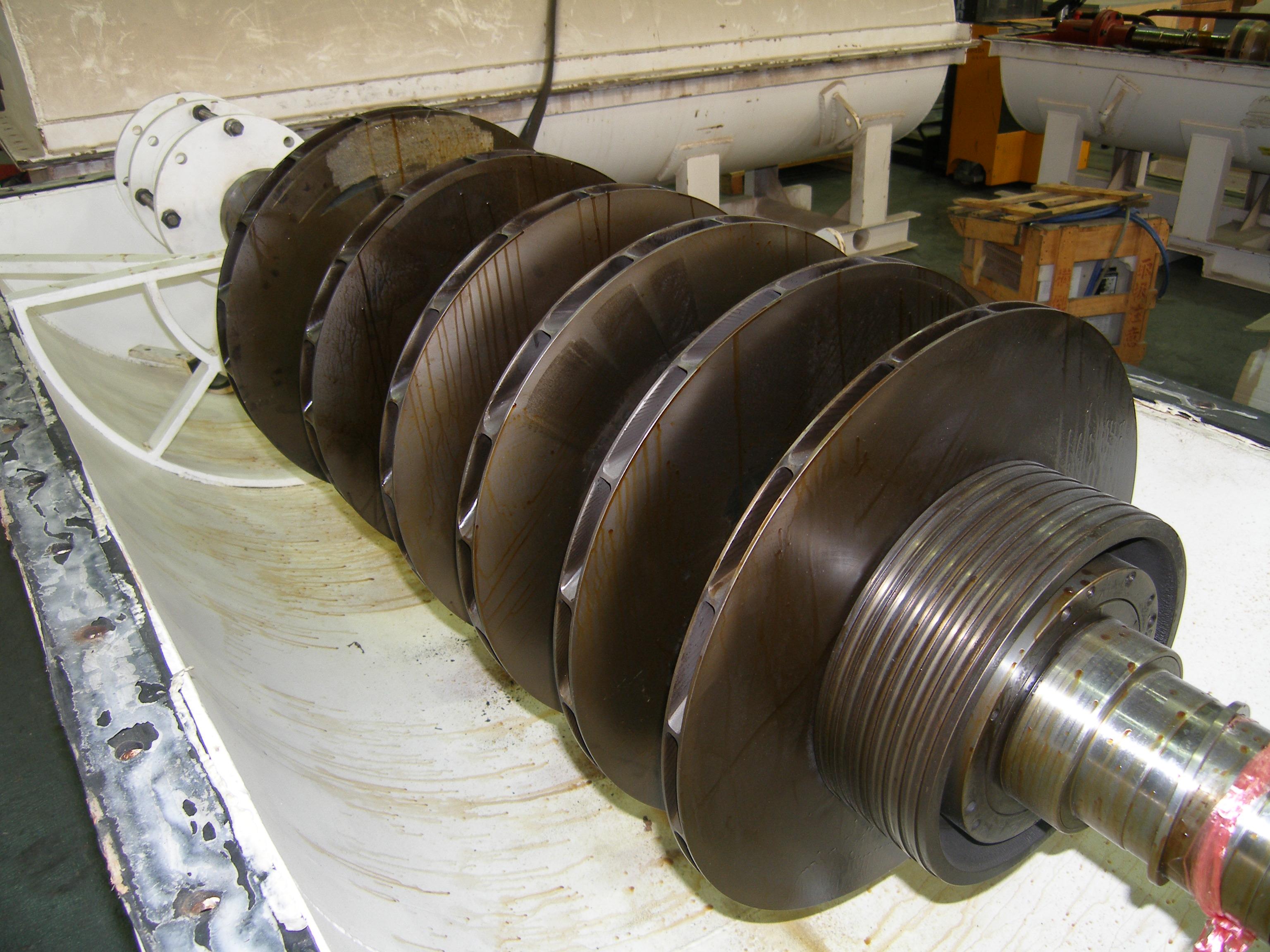 Centrifugal Compressor Rotor Repair