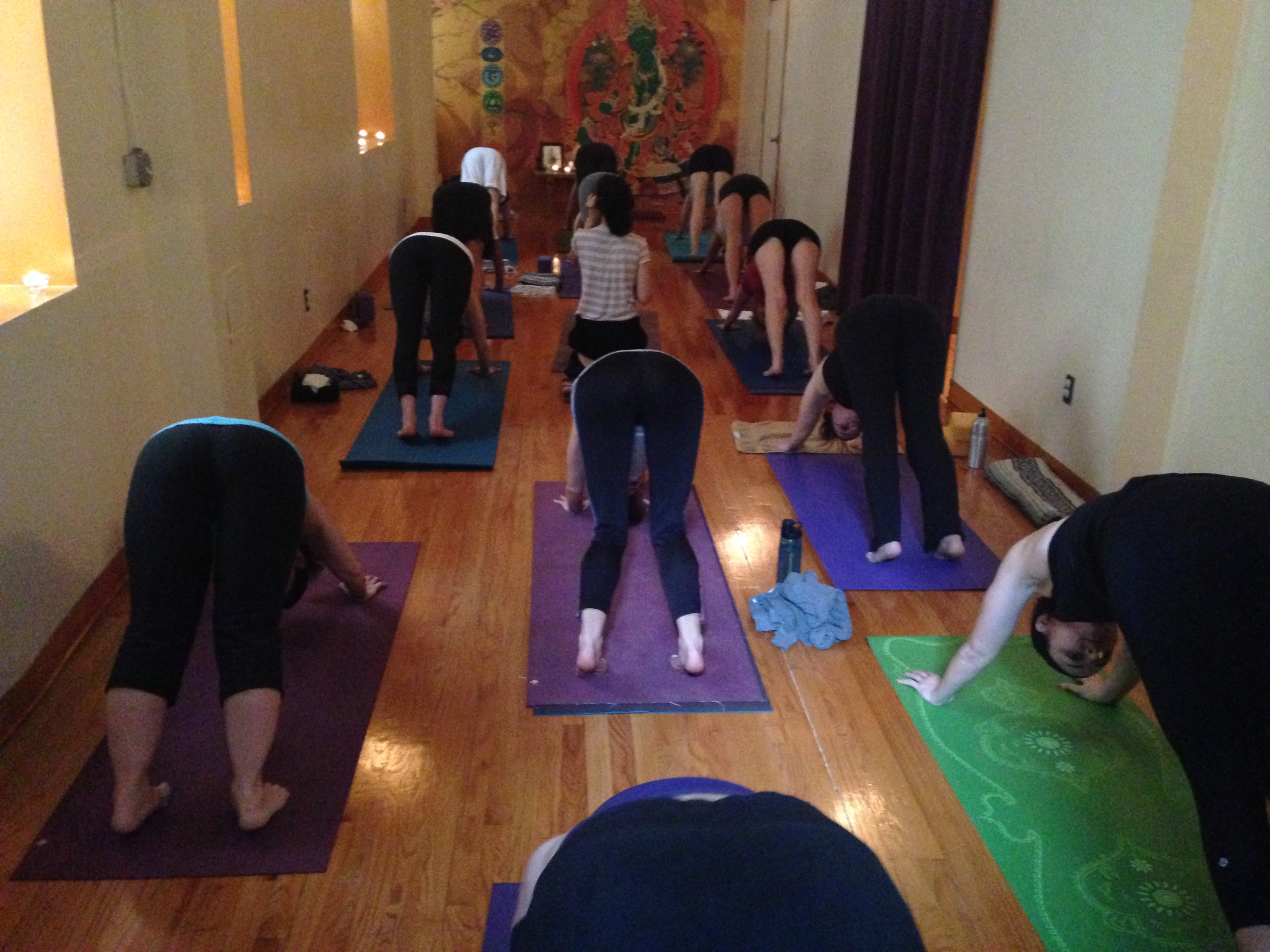 Yoga class at MBSY