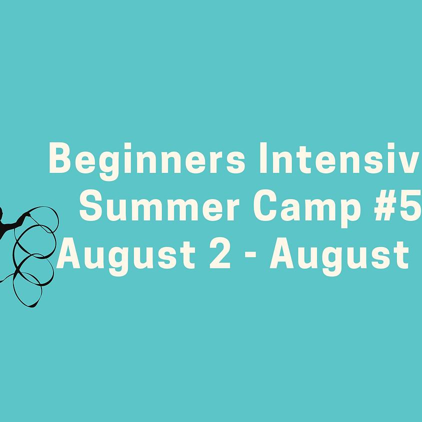Beginners Intensive Camp #5: August 2 - August 6