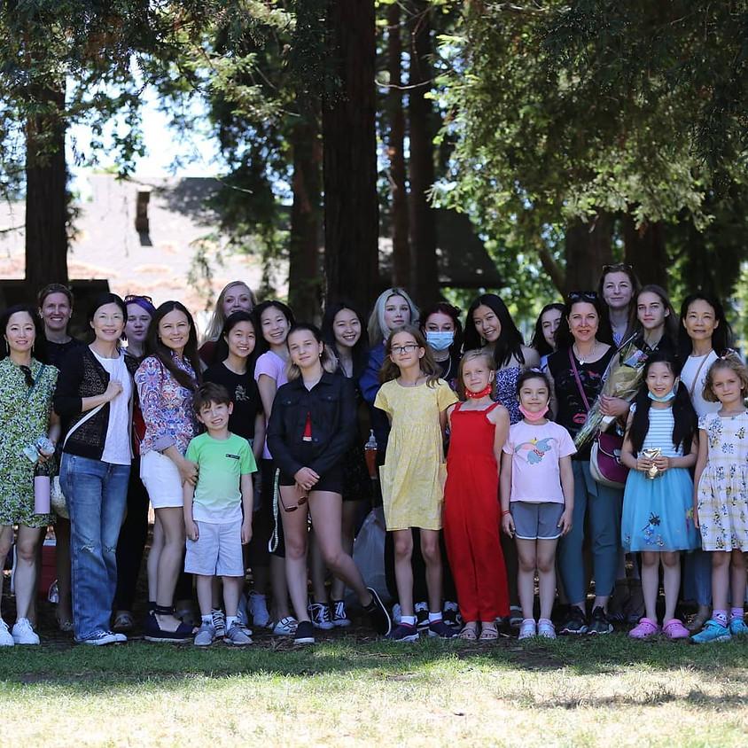 Diana's Rhythmic Team Annual Party!