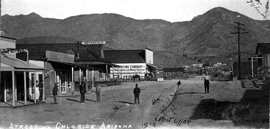 Chloride, Arizona in 1918