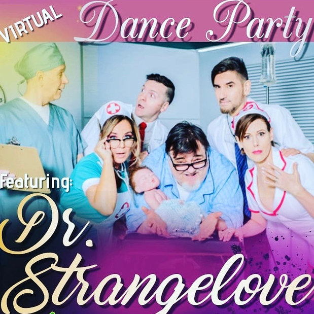 Dr Strangelove Virtual Dance Party!