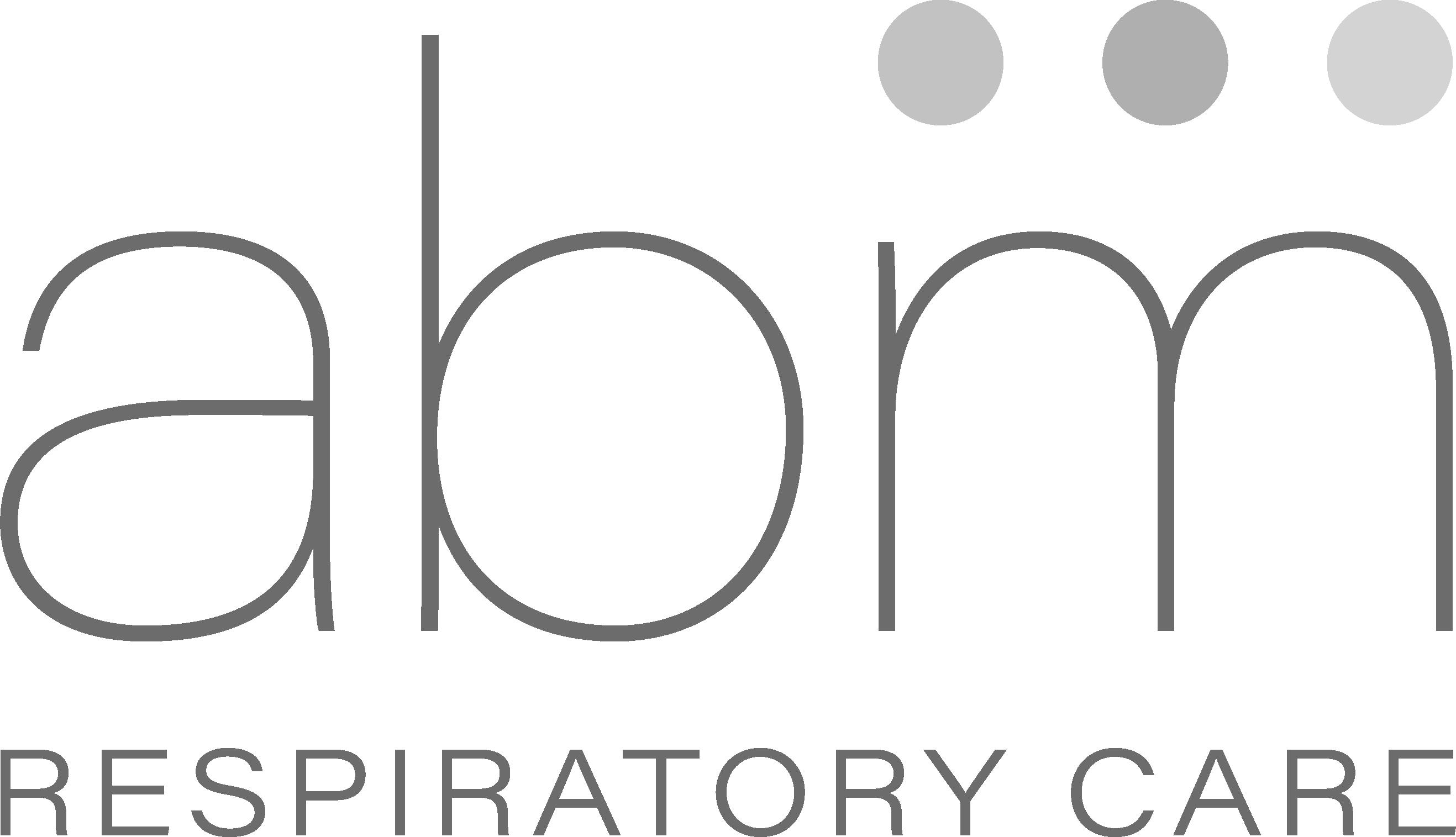 ABM logo grayscale