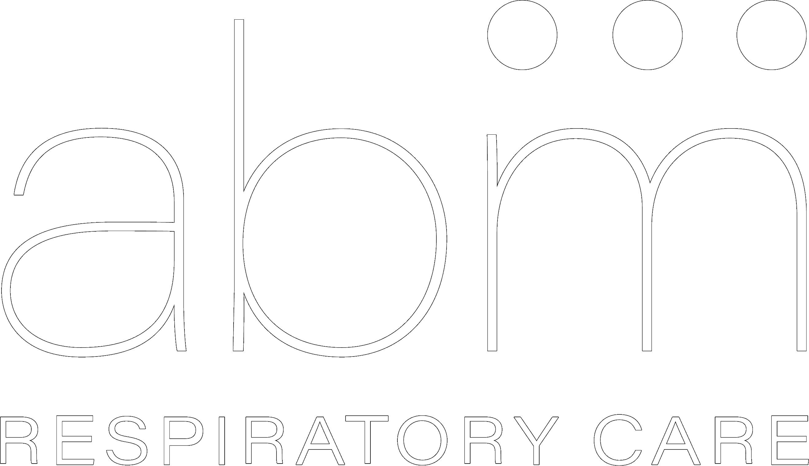 ABM logo white