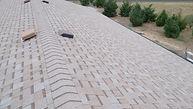 asphalt shingled roof with turtle ventDS