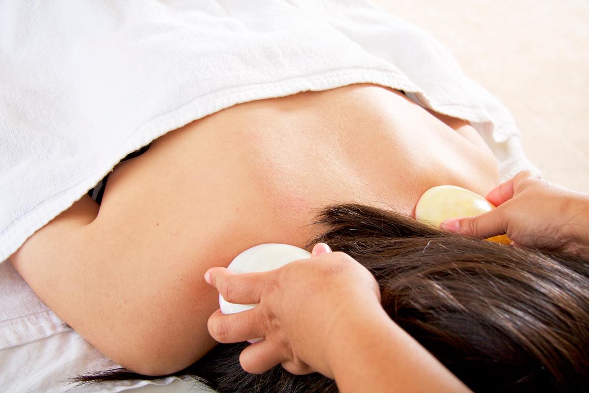 LavaShell Massage