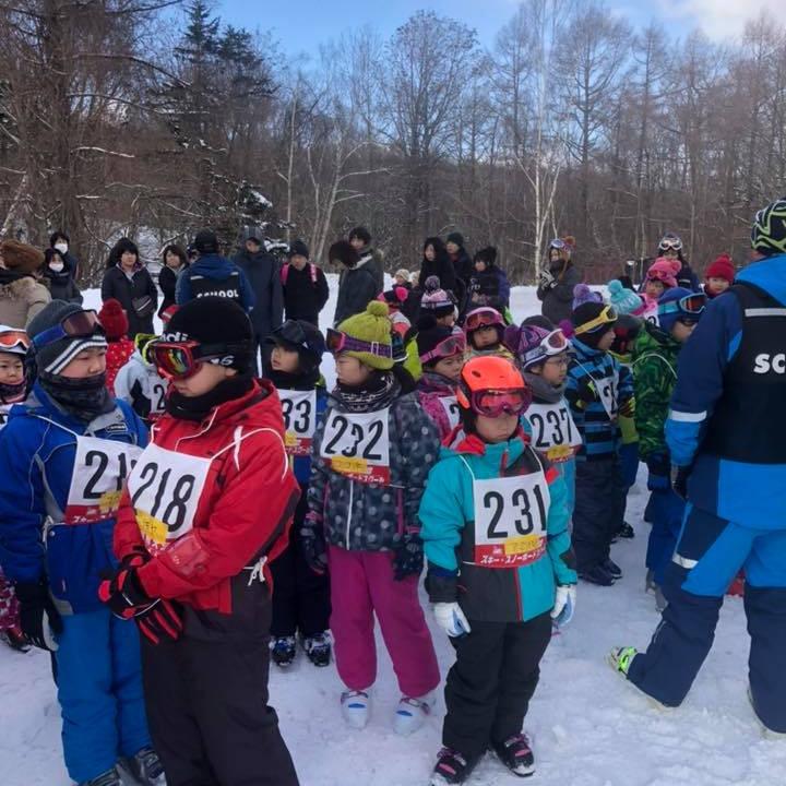冬休み Jr.スキー教室