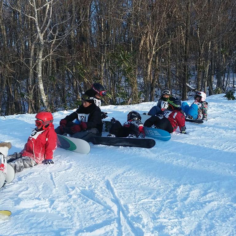 冬休み Jr.スノーボード教室