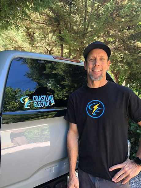 Chris Neill Owner Coastline Electric Santa Cruz Electrician