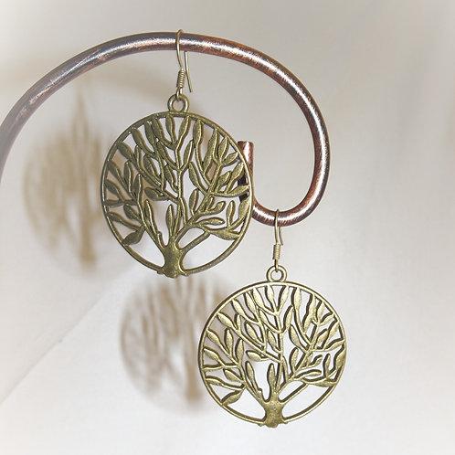 'Olive Grove' Earrings