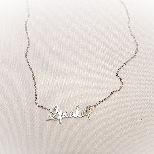 'Speak Up' Necklace