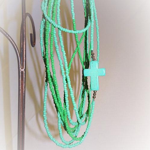 'Joyful Cross' Necklace/Bracelet