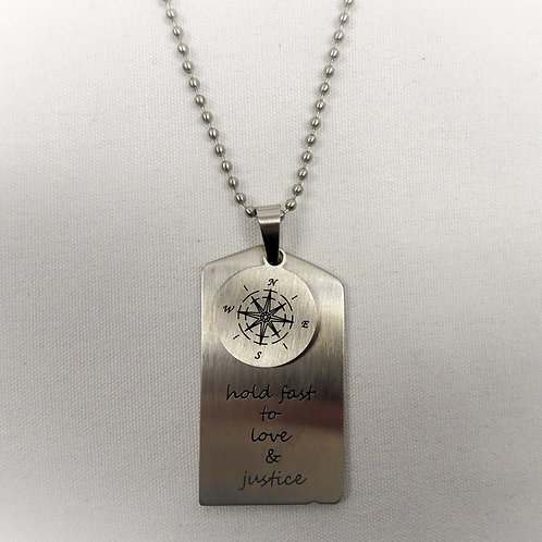 'Moral Compass' Necklace