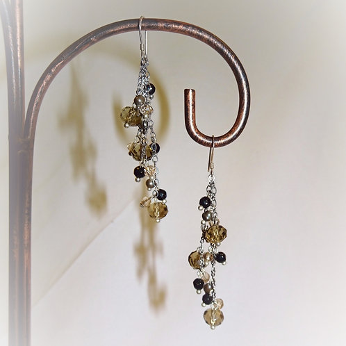 'Midnight Solace' Earrings