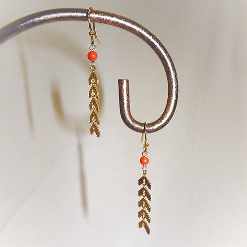 'Desert Wildflower' Earrings