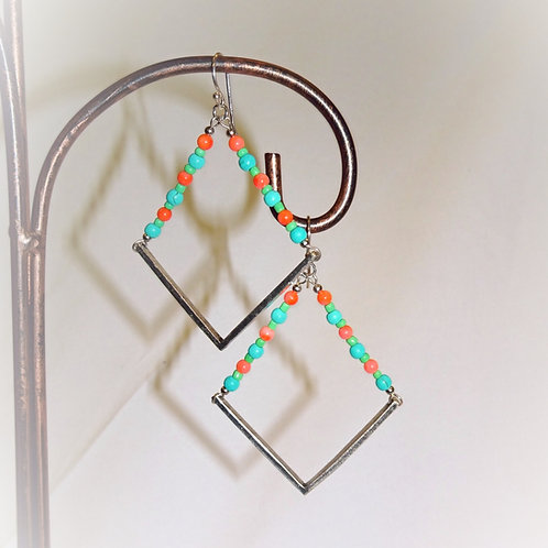 'Splash of Spring' Earrings