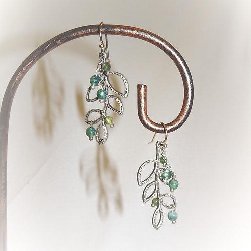 'Olive Branch' Earrings