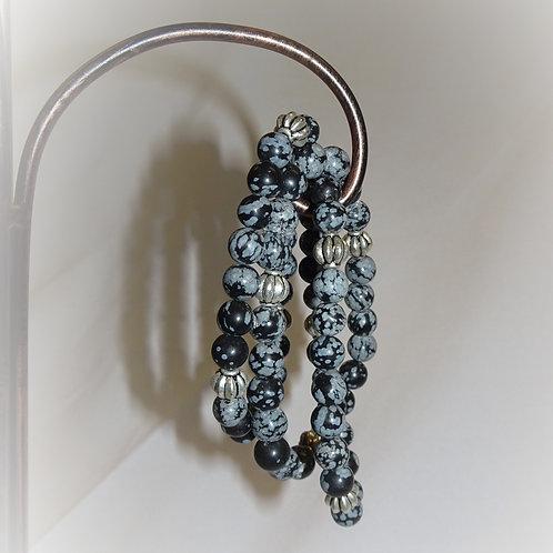 'Fossil Stone' Bracelet 3 Pack