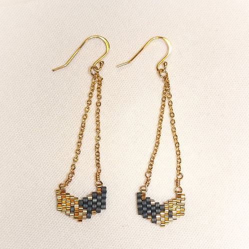 '1000 Gathered Pieces' Earrings