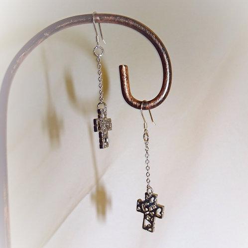 'Cross of Love' Earrings