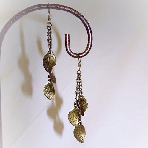 'Olive Leaf' Earrings