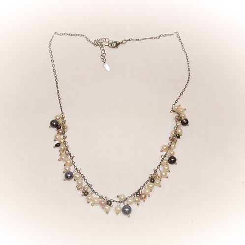 'Nightfall Cluster' Necklace