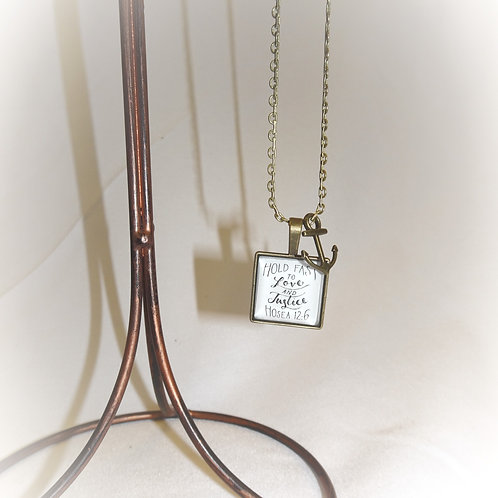 'Hold Fast' Necklace