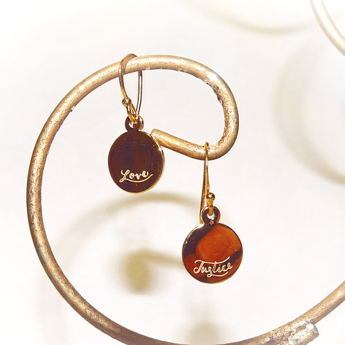 'Love and Justice' Earrings