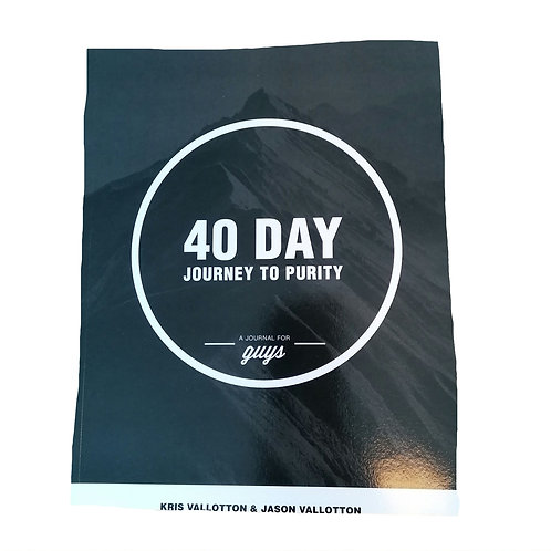40 Day Journey to Purity for Guys