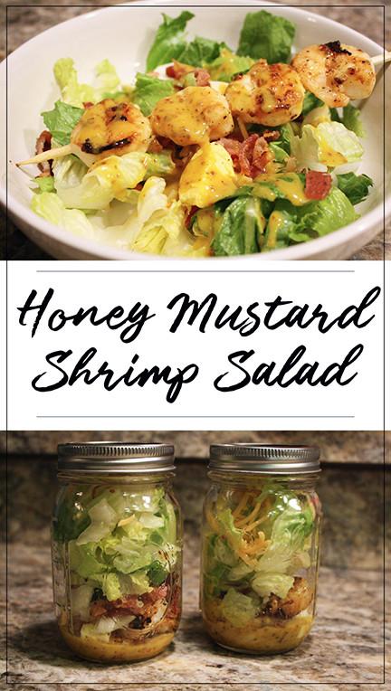 Honey Mustard Shrimp Salad