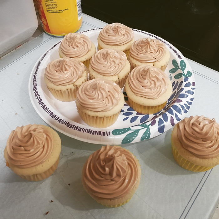 Death by Peanut Butter Cupcakes