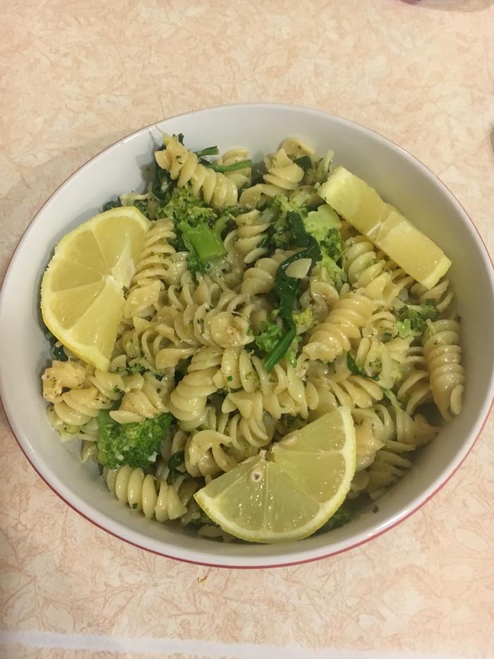 Lemon Broccoli Pasta Skillet