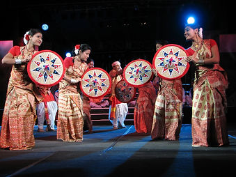 Indian folk dance by Shrinkhala Dance Company