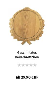 Geschnitztes Keilerbrettchen