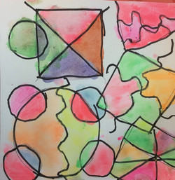 Kandinsky Abstracts 2nd-3rd