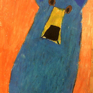 Oil Pastel Bears K-1st