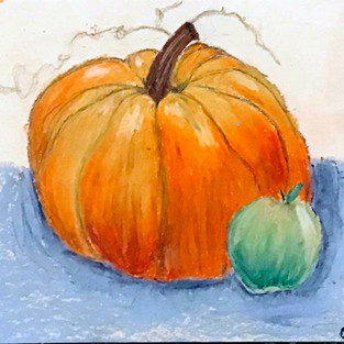 Beautiful Artwork from Online Art Classes!