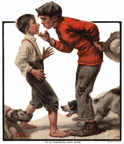 1921-06-04-The-Country-Gentleman-Norman-Rockwell-cover-Bully-Before-no-logo-400-Digimarc
