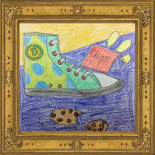 4-5 grade shoe drawings!