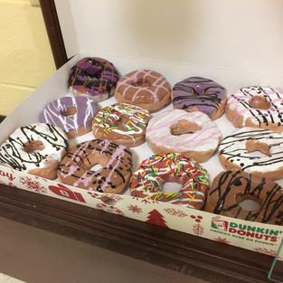 Ceramic Clay Donuts