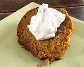 Pumpkin Spice Poundcake w Cool Whip