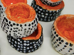 decorative pinch pots